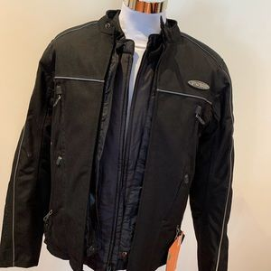 Men's FXRG Harley-Davidson Black Jacket NWT